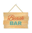 Beach Wood Boards vector image