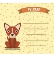 pet care vector image