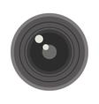Photo optic lenses vector image vector image
