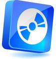 CDDVD Icon vector image