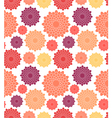 Floral pattern Chrysanthemum vector image vector image