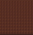 chocolate seamless milk handmade bio food vector image vector image