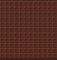 chocolate seamless milk handmade bio food vector image