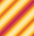 Seamless diagonal pattern red orange colours vector image