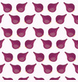 red onion nutrition seamless pattern image vector image