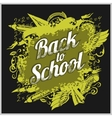Hand-drawn back to school sketchy vector image