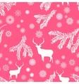 Retro Christmas Pattern vector image vector image