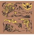 Arabic vignettes vector image