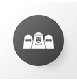 Mussulmans icon symbol premium quality isolated vector image