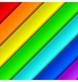 Diagonal spectrum panels vector image