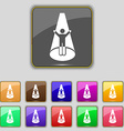 Spotlight icon sign Set with eleven colored vector image
