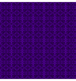 Seamless elegant purple pattern vector image
