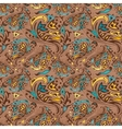 Arabic swirl pattern vector image