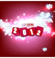 2012 glittering background  vector image vector image
