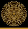 Mandala003 vector image