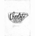 mocha cup vector image