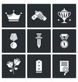 Reward icons vector image