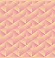 geometric pattern with pink rectangles vector image