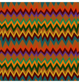 Seamless pattern with Aztec elements vector image