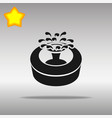 fountain black icon button logo symbol vector image