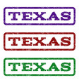 texas watermark stamp vector image