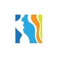 beauty logo template vector image