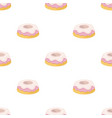 cake icon in cartoon style isolated on white vector image