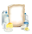 paper milky vector image