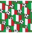 italy football pattern vector image