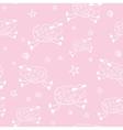 Baby shower cartoon pattern vector image vector image