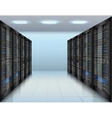 Data center background vector image
