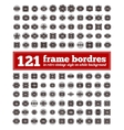Border Frame Set vector image