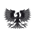 eagle for heraldry vector image vector image