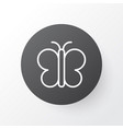 butterfly icon symbol premium quality isolated vector image