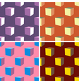 seamless abstract art pattern set vector image