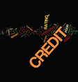 you could have bad personal credit history and vector image