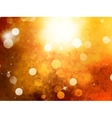 Elegant abstract background with bokeh EPS 10 vector image