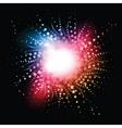 star burst effect vector image