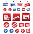 shopping signs vector image