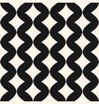 art deco seamless pattern wavy line rhombuses vector image