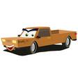 cartoon pick-up character vector image