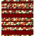 mosaic and wood vector image