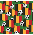 belgium football pattern vector image