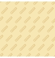 fusilli seamless pattern vector image