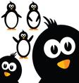 penguin sweet vector image