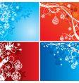seasonal design vector image