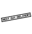 Next Day Delivery rubber stamp vector image