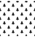 fir tree pattern vector image