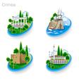 Crimea Tourism Pict 2nd vector image vector image