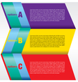 Colorful abstract banner EPS 10 vector image